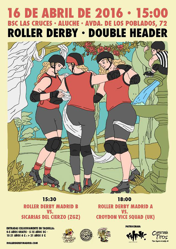 Roller Derby - Double Headerr